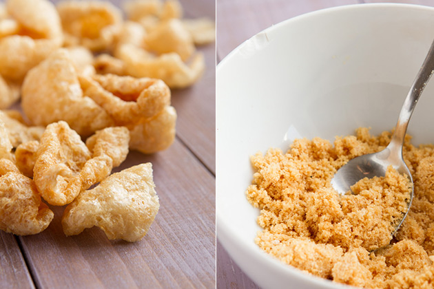Crazy Good Low-carb Pancakes (made with pork rinds!) - no sugar, grains, dairy or flour