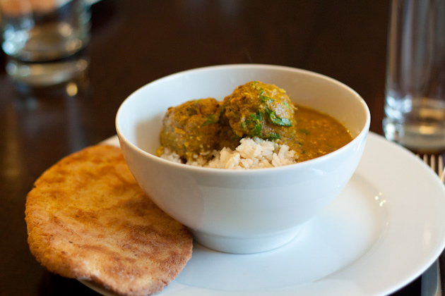 Vegan meatballs malai kofta healthful pursuit for more on the flavors of india series check out dhal aloo kofta aloo palak gluten free naan and payasam pudding when we have friends over for dinner forumfinder Gallery