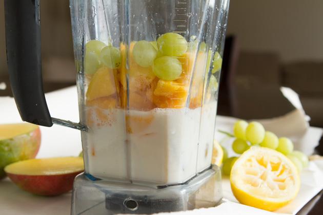 Mango Cream Smoothie #vegan #dairyfree