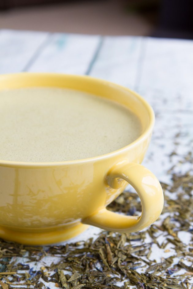 Matcha Rocket Fuel Latte #keto #rfl #latte
