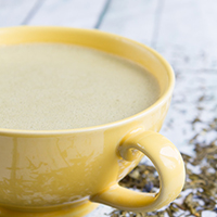 Matcha Rocket Fuel Latte #keto #fatfuel #genuinehealth #jointhealth #nutfree #antiinflammatory