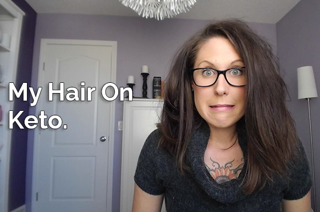 My Hair On Keto #keto #lowcarb #highfat #lchf #hflc