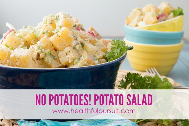Potato-free Potato Salad -- The Most Popular Recipes #grainfree #paleo #dairyfree