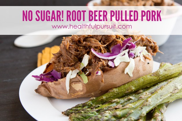 Paleo Root Beer Pulled Pork -- The Most Popular Recipes #grainfree #paleo #dairyfree