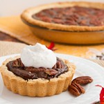 No Sugar! Low-Carb Chocolate Pecan Pie (dairy-free, grain-free, paleo, keto) Preview