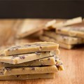 No Sugar! Vanilla Protein Bark #sugarfree #nutfree #dairyfree #lowcarb #keto #vegan