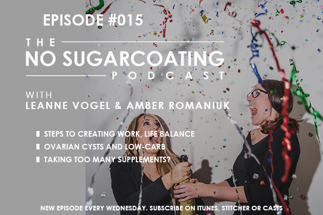 No Sugarcoating Podcast Episode 15 #womenshealth #nosugarcoatingpodcast #keto #balance #supplements #cysts #hormones #pcos