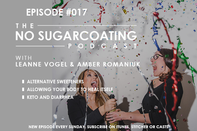 No Sugarcoating Podcast Sweeteners, Ongoing Health Issues, and Your Poo #balance #health #amenorrhea