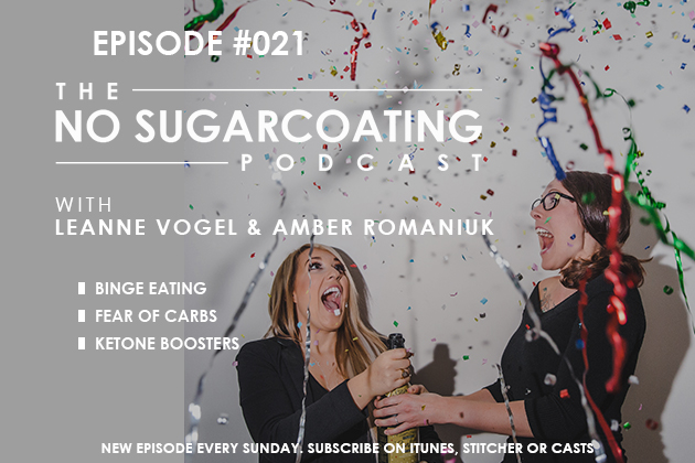 New episode of The No Sugarcoating Podcast #keto #lowcarb #highfat #ketone