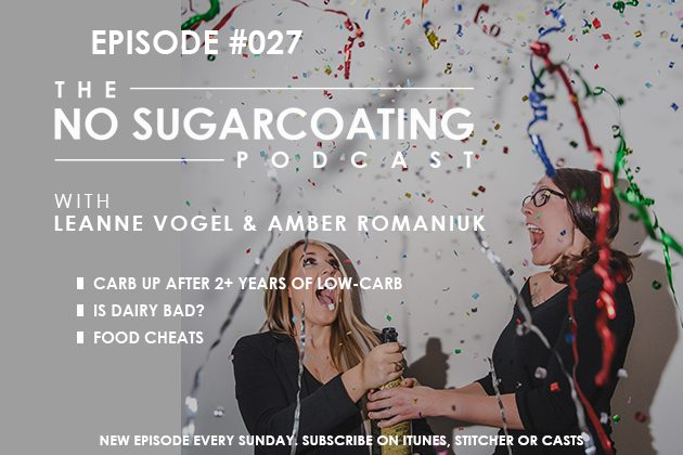 Food Cheats, Bad Dairy, and Low-Carb for 2 Years #nosugarcoatingpodcast #lowcarb #diet #dairyfree