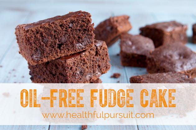 Oil-free Fudge Cake
