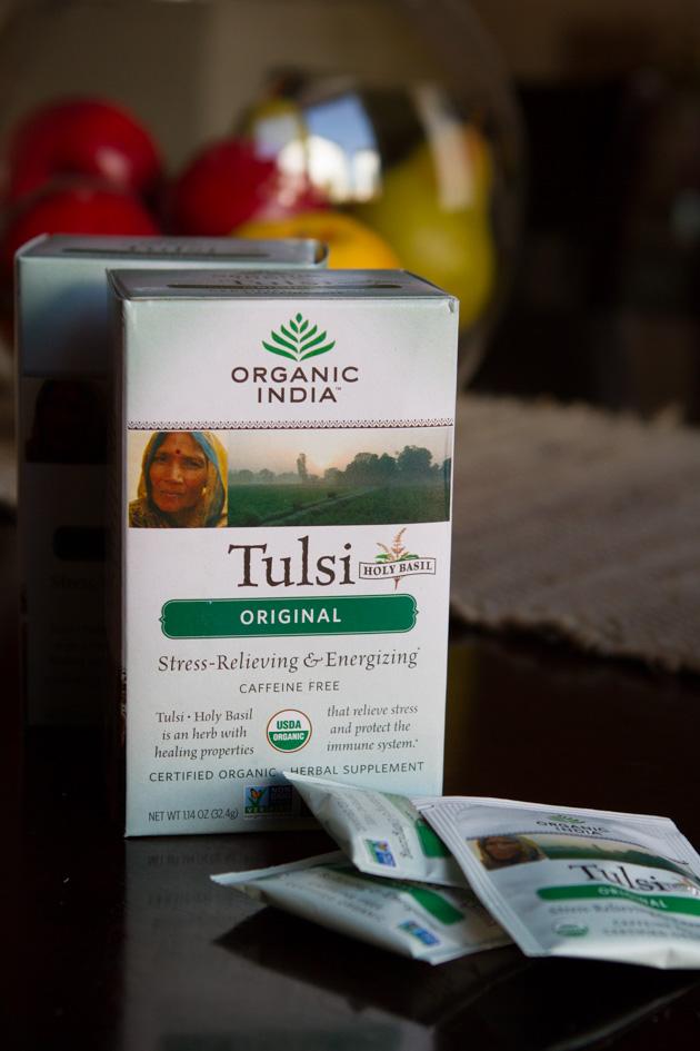 ORGANIC INDIA Tulsi Tea #organic #herbaltea #herbalsupplement #vegan #keto #paleo