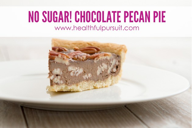 Grain-free Chocolate Pecan Pie -- The Most Popular Recipes #grainfree #paleo #dairyfree