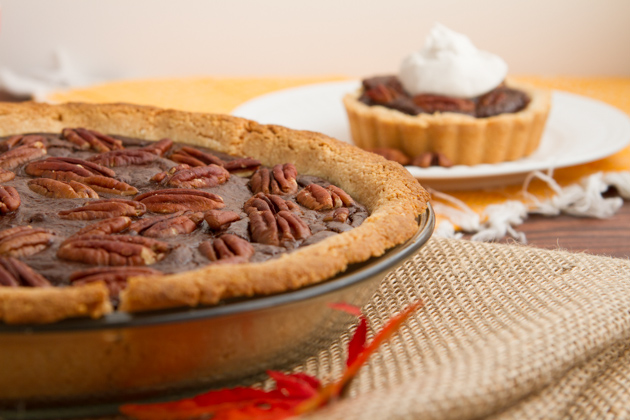 Paleo Chocolate Pecan Pie- part of the Healthy Holiday Menu #keto #paleo #grainfree #dairyfree