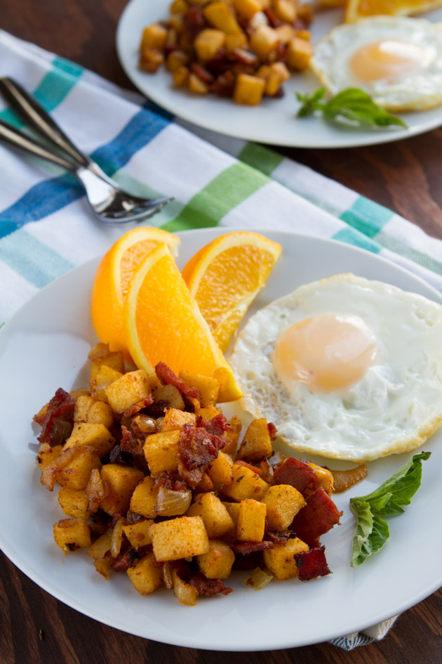 Potato-free Paleo Hash Browns