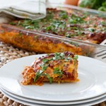 """Paleo Lasagna with Homemade (easy!) Dairy-free Melty Cheese + Butternut Squash """"Noodles"""""""