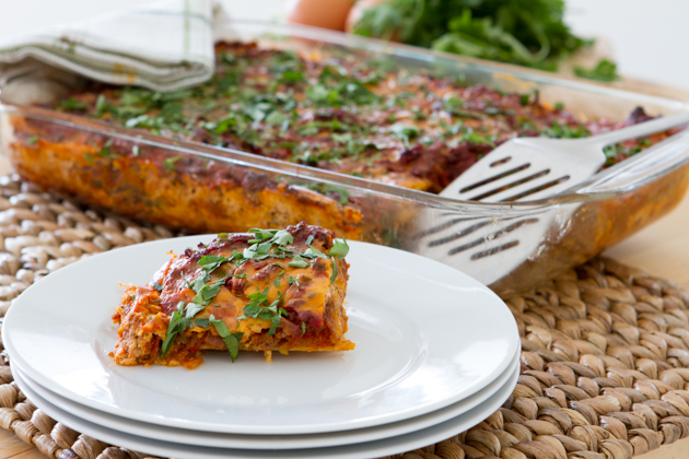 Paleo Lasagna With Dairy Free Melty Cheese Butternut Squash Noodles