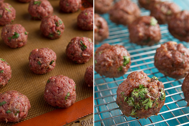 Paleo Meatball Sub with Dry Garlic Rib Sauce #glutenfree #grainfree #paleo