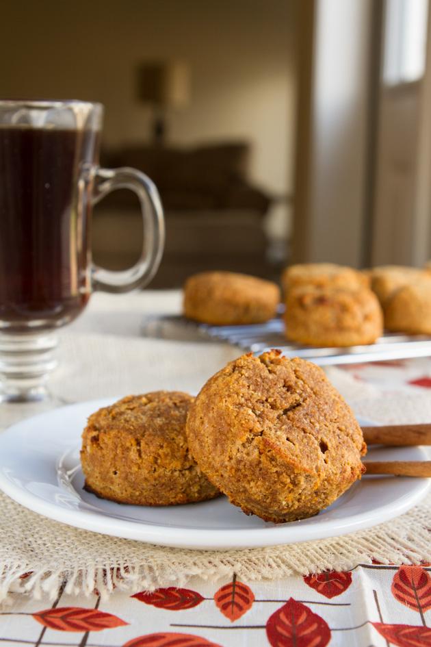 Pumpkin Spice Muffin Mounds #Gluten-free #Paleo