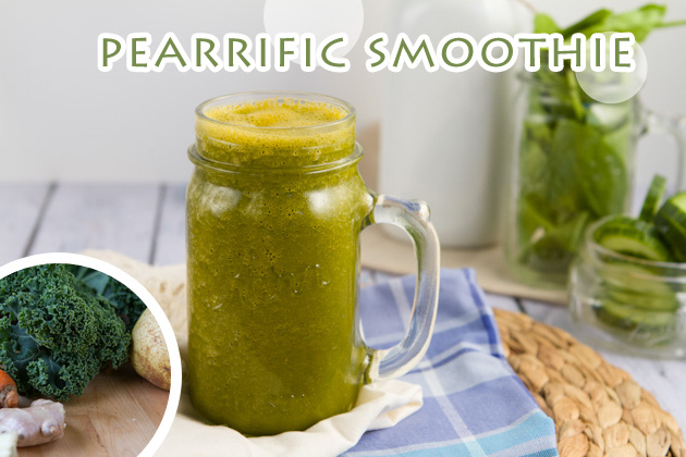 Pearrific Green Smoothie