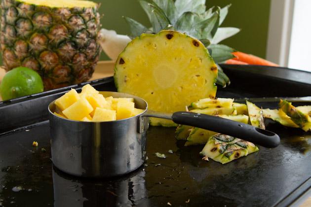 Pineapple Curry Coleslaw #paleo #glutenfree