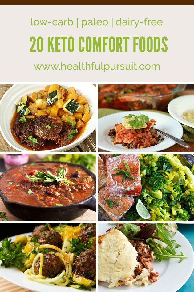 Keto Comfort Foods Low Carb Paleo Healthful Pursuit