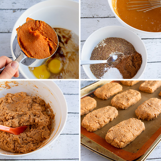 Oil-free Chocolate Pumpkin Protein Bars