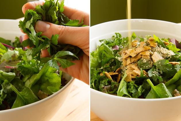 Pumpkin Seed Lemon Dressing