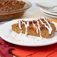 High Protein Crustless Pumpkin Pie #Gluten-free #Paleo