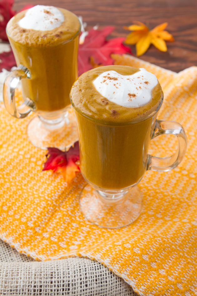 Pumpkine Spice Latte Smoothie