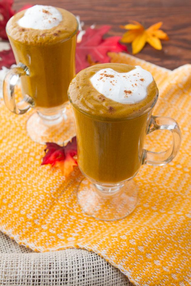 Pumpkine Spice Latte Smoothie