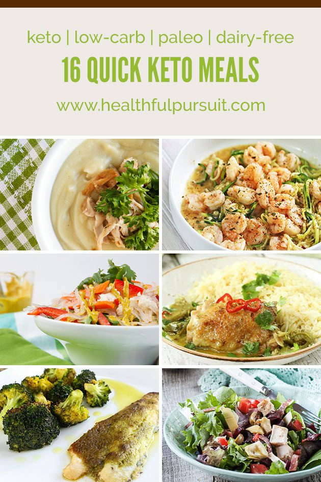 16 Quick Keto Meal Recipes #keto #lowcarb #highfat #paleo