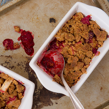 Raspberry-Crumble