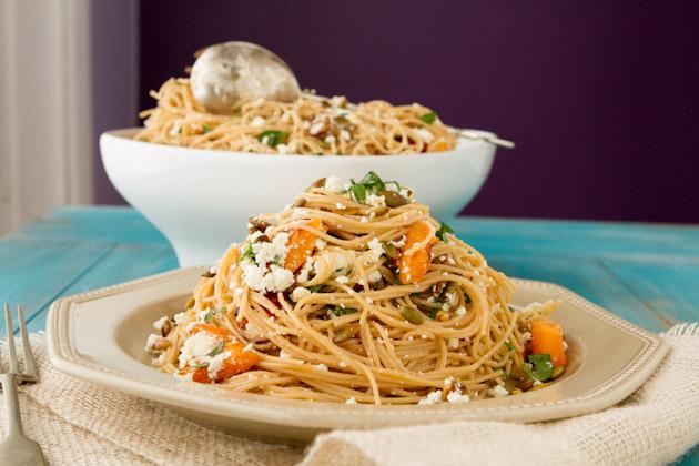 Roasted Butternut Squash Spaghettini