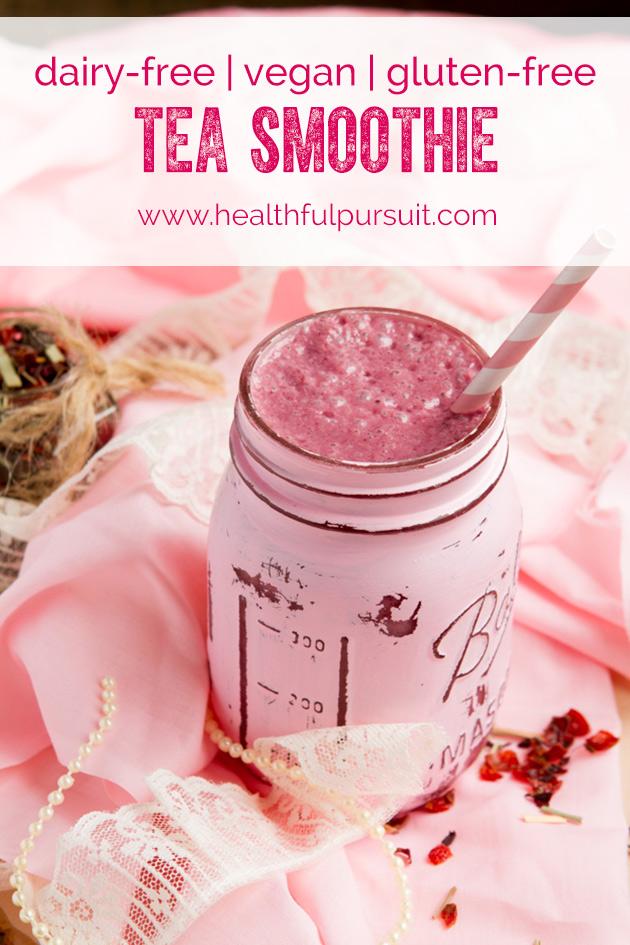 Dairy-free Tea Smoothie | Healthful Pursuit