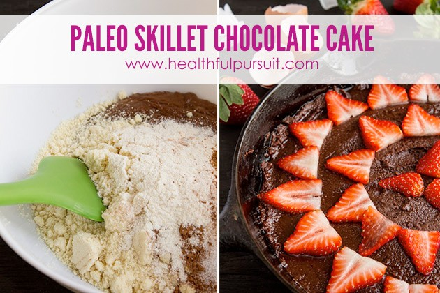 No Sugar! Skillet Chocolate Cake -- The Most Popular Recipes #grainfree #paleo #dairyfree