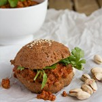 Bombay Sloppy Joe in Low-Carb Buns (grain-free, paleo, low-carb, keto) Preview