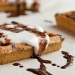 S'mores Waffles (dairy-free, vegan, egg-free + paleo)