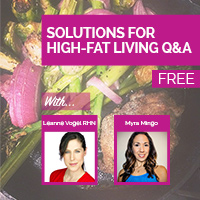 Audio: High-fat Living a Breeze? Solutions for making the switch easy. #keto #lowcarb #paleo