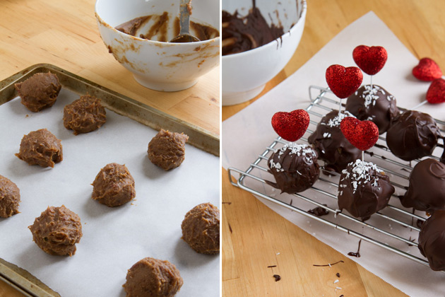 Strawberry Fudge Truffles