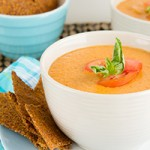 5-Minute Vegan Cream of Tomato Soup (paleo, too!)