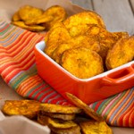 All About That Crunch… Baked Turmeric Plantain Chips (vegan, grain-free + paleo) Preview