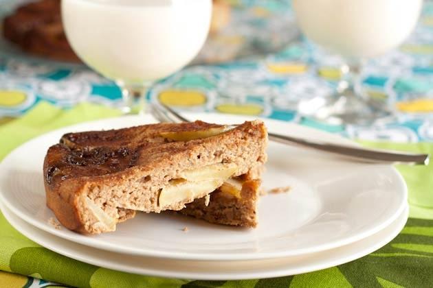 Rock Cake Recipe Low Sugar: Upside Down Apple Pinwheel Cake