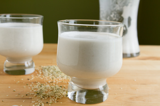 Vanilla Nut Hemp Milk