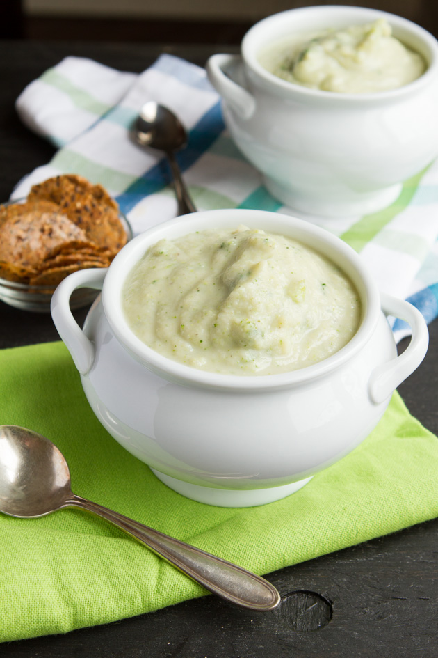 Vegan Cream of Broccoli Soup (Grain-free + Paleo)