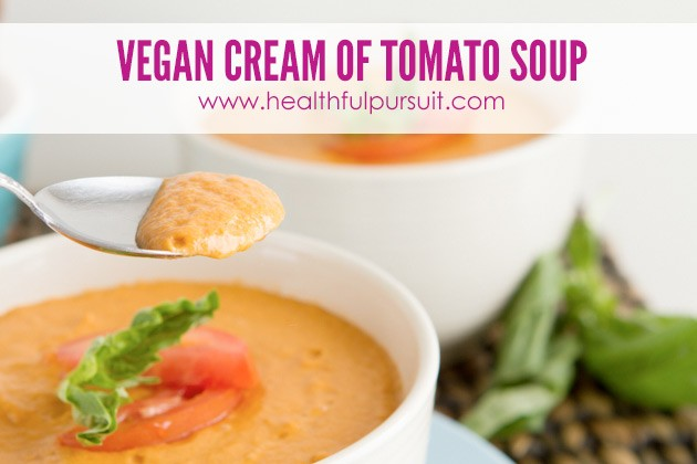 Dairy-free Cream of Tomato Soup -- The Most Popular Recipes #grainfree #paleo #dairyfree