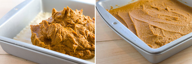 Vegan Pumpkin Mousse Squares