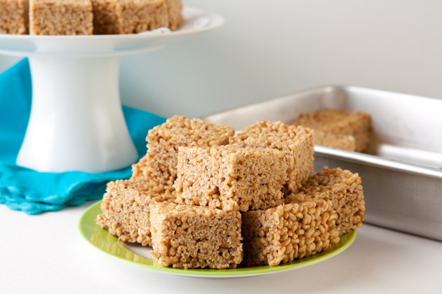 Gluten free rice crispy treats healthful pursuit for How do you make rice crispy treats