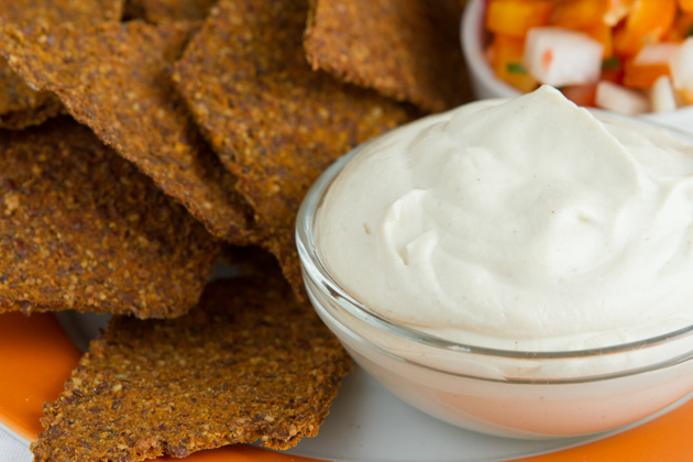 Vegan-Sour-Cream - part of the Healthy Holiday Menu #keto #paleo #grainfree #dairyfree