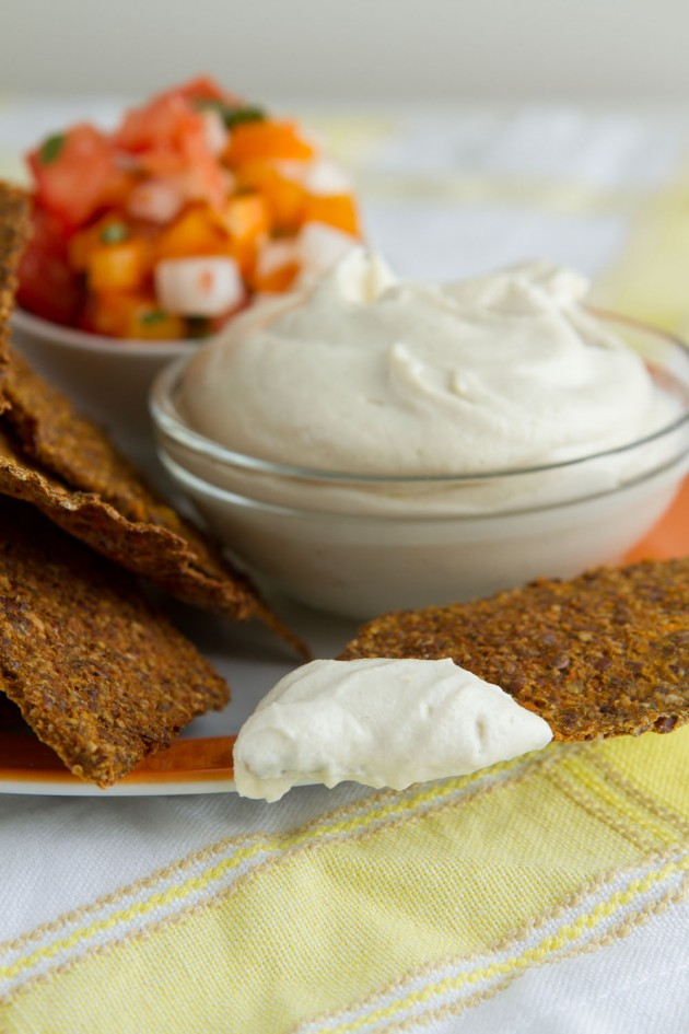 Vegan Sour Cream #vegan #paleo #dairyfree #lowcarb